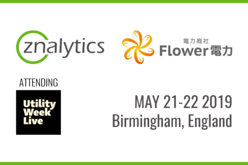 Znalytics and Flower Power at Utility Week Live 20