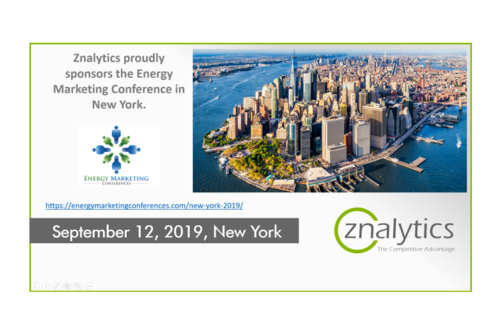 Znalytics Announced as Sponsor for EMC 2019